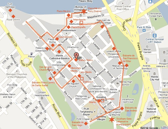 Intramuros Manila Tour