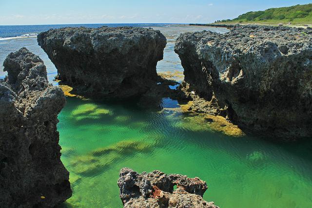 Currimao, Ilocos Norte: Pangil Coral Rock Gardens ...